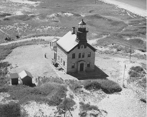 Current North Lighthouse Built